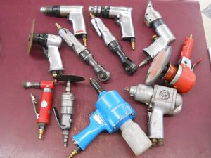 11 PC Air Tools: Drill Ratchet Riveter Shear Cut-Off Die Grinder DA for Sale in Columbus, OH
