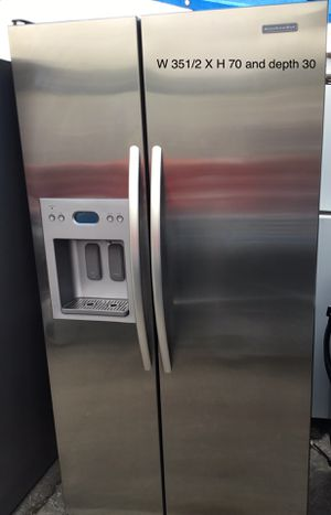 KitchenAid Side by side refrigerator ❄️❄️❄️ for Sale in San Leandro, CA