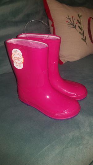 Girls Rain Boots Size 11-12 for Sale in Artesia, CA