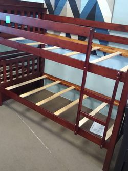 Twin Size Bunk Bed Frame for Sale in Phoenix,  AZ