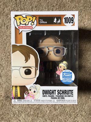 Funko POP Dwight Schrute w/ Princess Doll #1009 for Sale in San Lorenzo, CA
