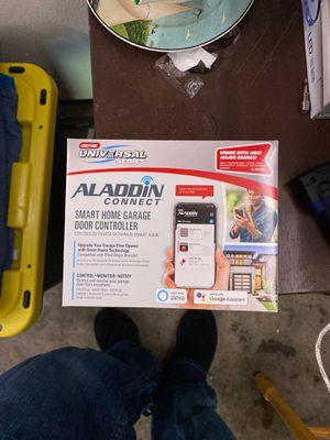 Genie Aladdin connect smart home garage door controller for Sale in Longmont, CO