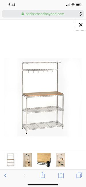 Baker's rack and cutting board for Sale in Brooklyn, NY