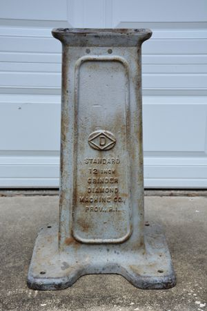 Cast Iron Grinder Stand Industrial Table Base for Sale in Maitland, FL