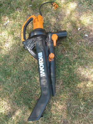 Leaf Blower, Mulcher, Vacuum, WorX Brand for Sale in Fort Worth, TX