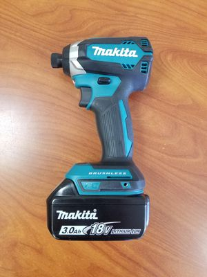 Makita brushless impact driver with 3.0ah battery for Sale in West Covina, CA