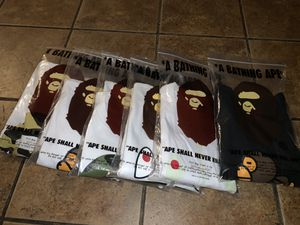 BAPE T- SHIRTS for Sale in Jurupa Valley, CA