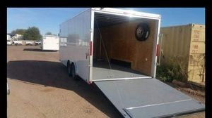 Look enclosed trailer car hauler rntl for Sale in Gilbert, AZ