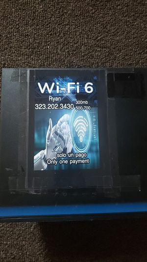 Modem in great condition like new with wifi fast Internet for Sale in Los Angeles, CA