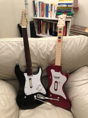 Game guitars for PS2&PS3 Rockband for Sale in McLean, VA