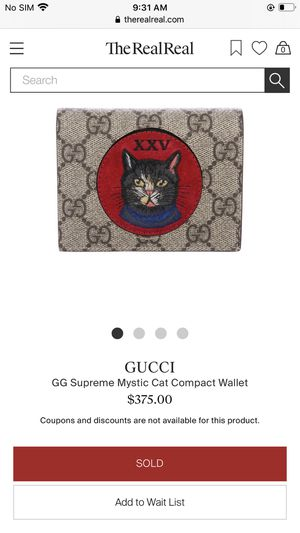 Authentic Gucci wallet for Sale in Cathedral City, CA