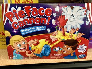 Pie Face Cannon Game Whipped Cream Family Board Game Kids Ages 5 and Up NEW! for Sale in Norfolk, VA