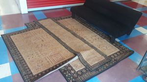 Rug Set and Futon for Sale in St. Louis, MO