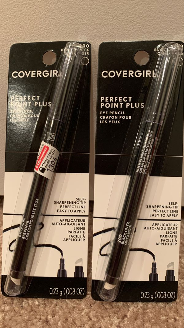 CoverGirl perfect point plus eyeliner in black: 2 for $5