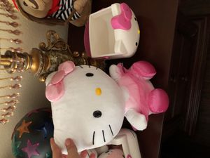Hello kitty stuffed character ballerina with basket for Sale in Poway, CA