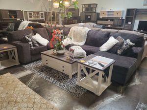 Modern Sectional Sofa, Smoke for Sale in Fountain Valley, CA