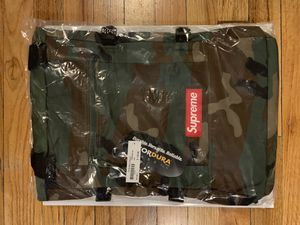 Supreme Tote Backpack Woodland Camo for Sale in New York, NY