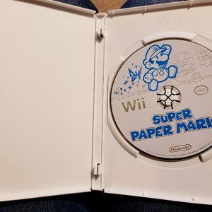 Super Paper Mario For Nintendo Wii for Sale in Bonney Lake, WA
