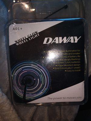 2 sets of DAWAY A01+ Bike Wheel Light - Waterproof LED Bicycle Spoke Light for Sale in City of Industry, CA
