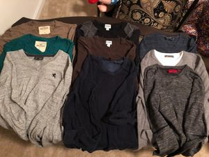 Bundle of 9 men's sweaters for Sale in Fairfax, VA