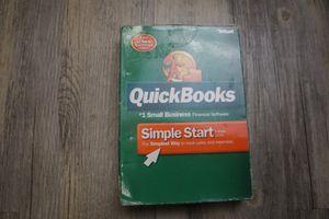 Quick books simple start 2006 software for Sale in Pico Rivera, CA