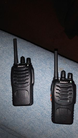 I have a two two-way radio for sale for Sale in Wellington, KS