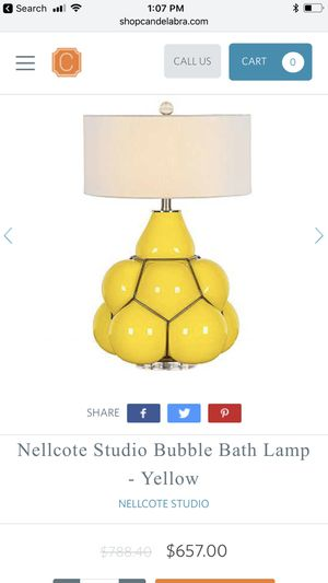 Nellcote Studio-Accent Lamp. Brand new. Never used for Sale in Las Vegas, NV