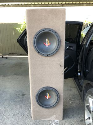 Car Stereo System. JL Amps. Kicker Subs. Pioneer deck. for Sale in La Mesa, CA