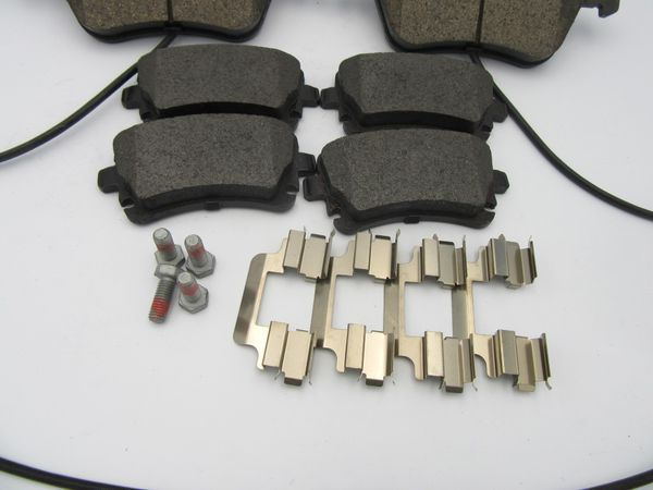 Bentley Continental GT GTC Flying Spur Front and Rear Brake Pads Premium Quality #121