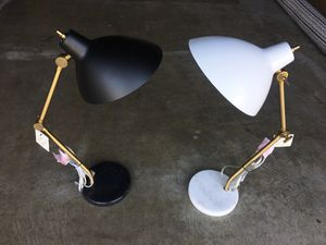Project 62 Table Lamp marble base for Sale in Ontario, CA
