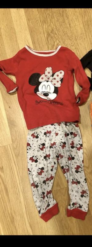 holiday Minnie Mouse pajamas for Sale in West Linn, OR