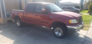2001 Ford F150 4x4 Super Crew Cab for Sale in Bellflower, CA