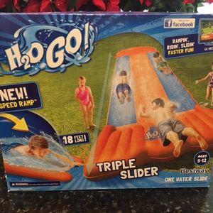 H2O Go! Triple Water Slide for Sale in Auburn, WA