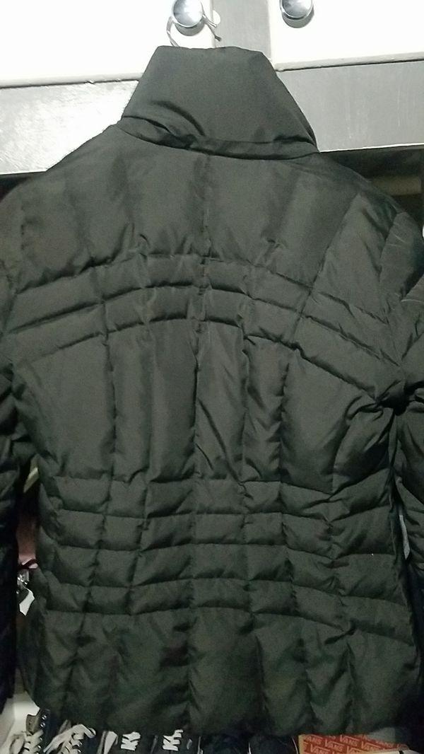 Black women's Calvin Klein jacket