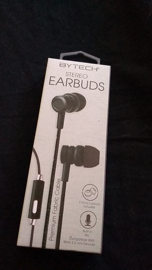 Bytech stereo earbuds. Pick up only. for Sale in Rancho Cucamonga, CA