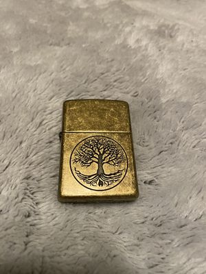 """ZIPPO """"Tree Of Life"""" Never Used windproof lighter for Sale in Lodi, CA"""