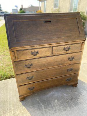 Antique vintage secretary desk for Sale in Chula Vista, CA
