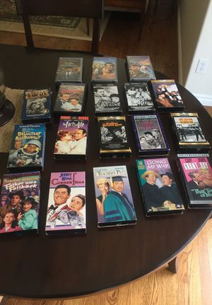 Classic movie VHS tape set for Sale in Snohomish, WA