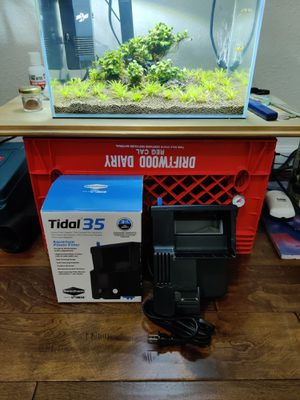 SEACHEM Tidal 35 Aquarium fish tank filter for Sale in Alta Loma, CA