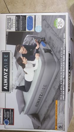 🏕🌈🔥ALWAYZ AIRE -AIR MATTRESS WITH BUILT-IN PUMP AND STORAGE BAG 🔥BRAND NEW IN BOX NEVER USED🔥 for Sale in Hemet,  CA