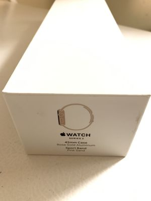 Apple Watch Series 2 42mm Rose Gold Aluminum for Sale in Adelphi, MD
