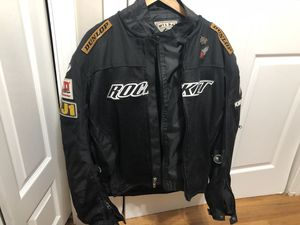 Motorcycle jacket size large for Sale in Marlborough, MA