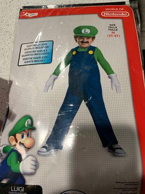 Luigi size 3T-4T- Costume for Sale in Henderson, NV