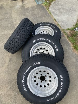 All-Terrain BF Goodrich tires and rims for Sale in Virginia Beach, VA