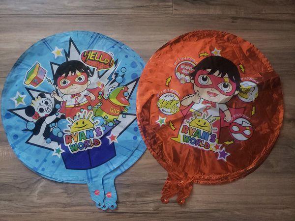 Ryan's world decorations Ryan's world backdrop ryan's world balloons