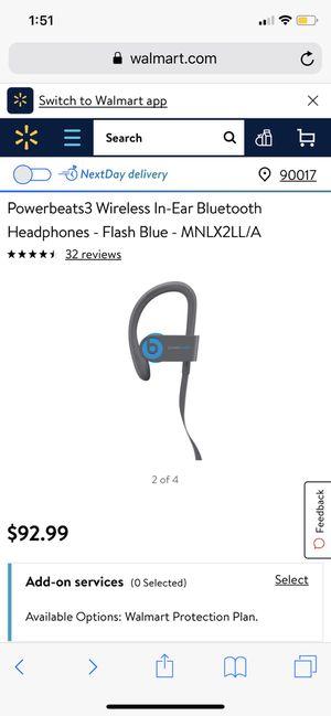 Powerbeats 3 - Flash Blue for Sale in Phoenix, AZ