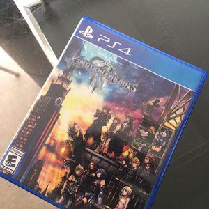 Kingdom Hearts PS4 for Sale in Fullerton, CA