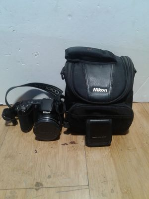 Nikon COOLPIX L810 W/ Lanyard, Memory Card Wallet and Nikon Camera Bag for Sale in City of Industry, CA