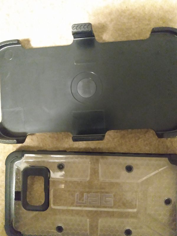 OtterBox case and clear uag case for samsung edge 7
