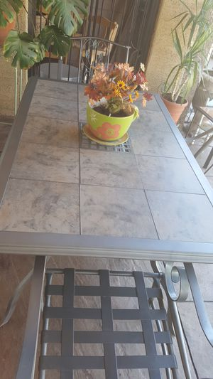 PATIO TABLE SET for Sale in Gilbert, AZ